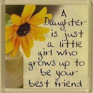 A daughter is just a little girl….